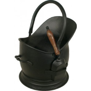 All Black Stanton Coal Bucket & Shovel