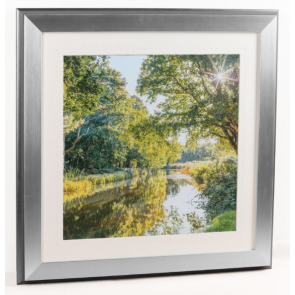 Canalside sunburst 2 Framed Picture - Fine Art Photographer Assaf Frank - Artko UK