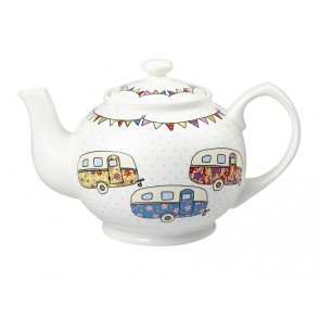 Fine China Caravan Teapot - 850ml capacity