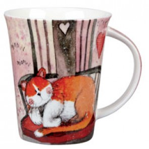 Cat Chair Mug by Alex Clark