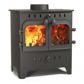 Villager C Flat Wood Duo wood stove