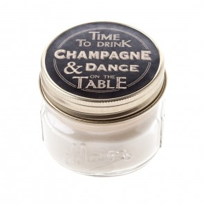 Time to drink Champagne Candle Jar