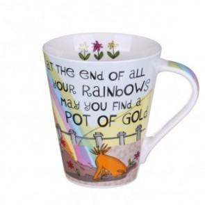 The Good Life 'At The End of All Your Rainbows' Flight Mug