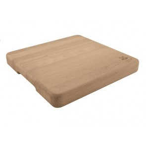 Solid Beech Wooden Butchers Block