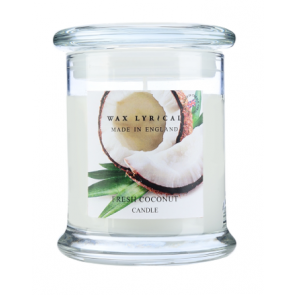 Fresh Coconut Wax Lyrical Candle Jar with Lid