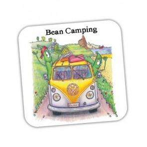 Bean Camping Coaster