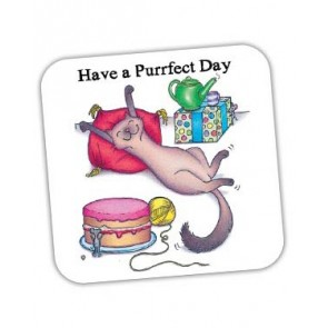 Have A Purrfect Day Coaster