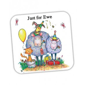 Just for Ewe Coaster