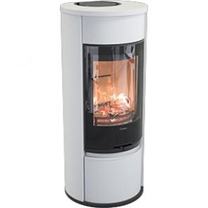 Contura 610G Style Woodburner - White
