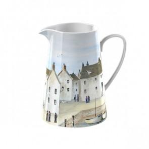Large Ceramic Cornish Harbor Jug by Creative Tops.