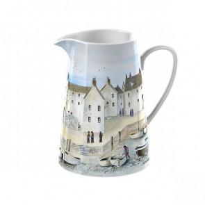 Small Ceramic Cornish Harbor Jug by Creative Tops.