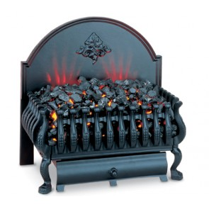 Burley Cottesmore Electric Fire with Back