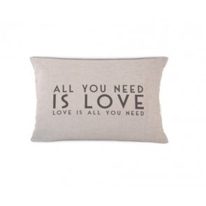 All you need is love cushion - East of India