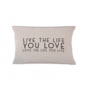 Love the Life Cushion - East of India