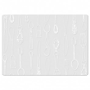 Glass Cutlery Placemats