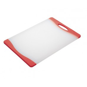Red Polyethylene Cutting Chopping Board
