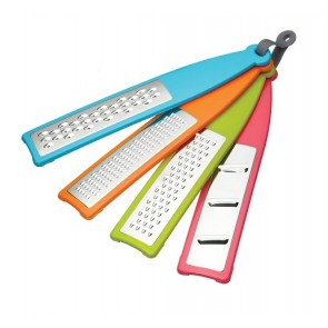 Colourworks Four Piece Food Grater and Slicer set