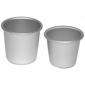Small & Large Anodised Dariol Moulds