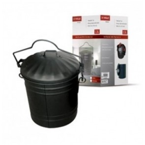 De Vielle Ash Bucket with Lid
