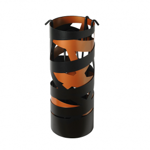 Dixneuf Ruban Black & Copper Ribbon Fire Tool Set
