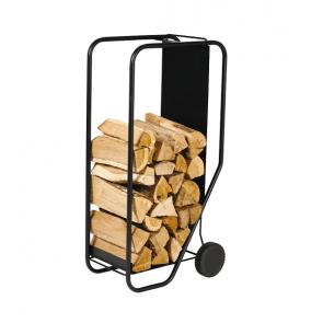 Dixneuf Wagon Log Holder on Wheels