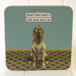 The Little Dog - Dog Hug Coaster