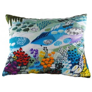 Natalie Rymer Snowy Hill Cushion