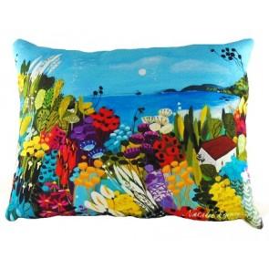 Near the Sea cushion  by Natalie Rymer - 43cm x 33cm