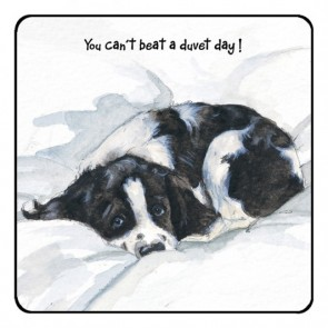 The Little Dog Duvet Coaster