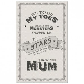 Thank You Mum Cotton Tea towel