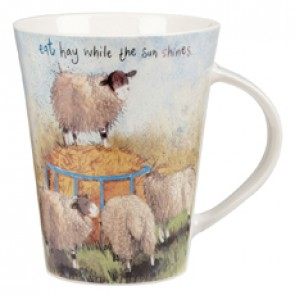 Eat Hay Mug by Alex Clark
