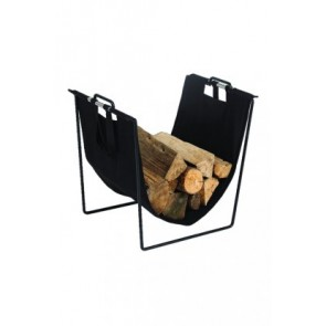 Dixneuf Eol Log Holder in black