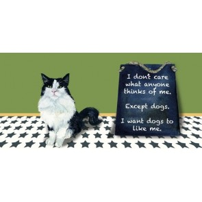 The Little Dog - Except Dogs Greeting Card