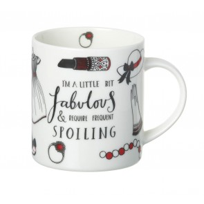 Parlane Fabulous Mug - I am a little bit fabulous & require frequent spoiling