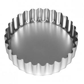 Anodised deep flan tin