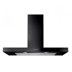 Rangemaster 110 Flat Hood in Black