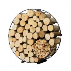 Floor Mounted Circular Log Holder