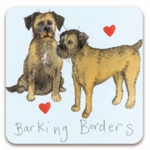 Alex Clark Barking Borders Magnet