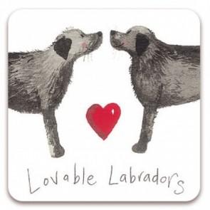 Alex Clark Lovable Labradors Magnet
