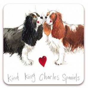 Alex Clark Kind King Charles Spaniels Magnet