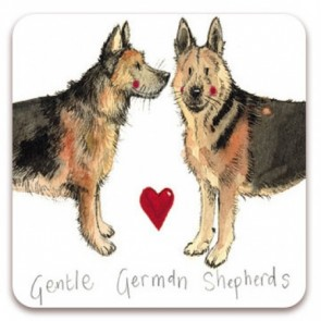 Alex Clark Gentle German Shepherds Magnet