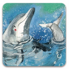 Alex Clark Dolphin Magnet