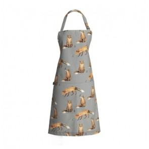 fox and mouse apron