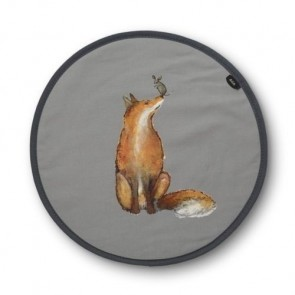 fox and mouse playing chef pad