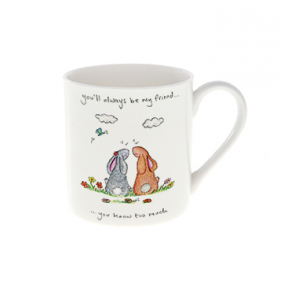 Always Friend China Mug