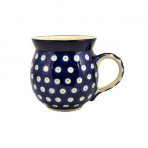 Frogeye Polish Pottery Barrel Mug