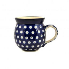 Frogeye Polish Pottery Barrel Mug