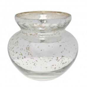 sophie allport glass vase leaf