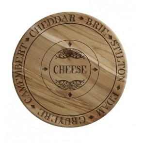 Solid Oak Cheese Board