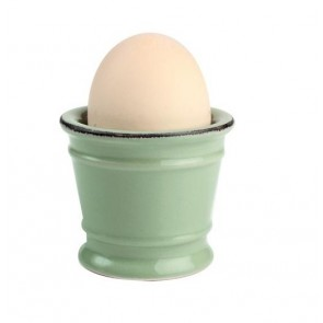 Old green egg cup from the Pride of Place range